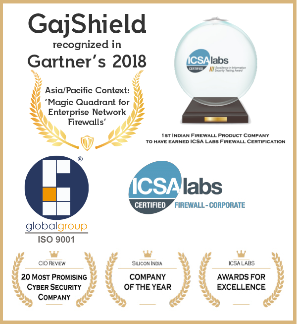 GajShield Firewall UTM - Awards